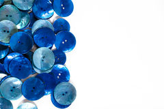 Blue buttons Stock Photography
