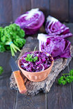 Blue cabbage Royalty Free Stock Photo