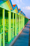 Blue Cabina Royalty Free Stock Image