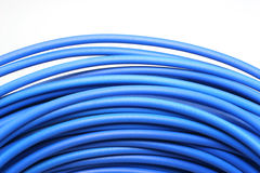 Blue Cable Royalty Free Stock Images
