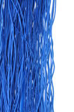Blue cables Royalty Free Stock Photography