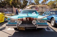 Blue 1973 Cadillac Caribou Stock Image
