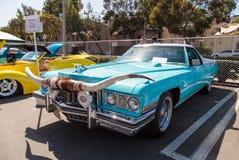Blue 1973 Cadillac Caribou Royalty Free Stock Photos