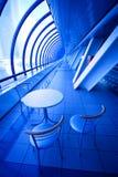 Blue cafe Stock Photos