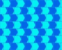 blue caffee illusion light optical variant wall απεικόνιση αποθεμάτων