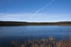 Blue Calm Lake Royalty Free Stock Photo