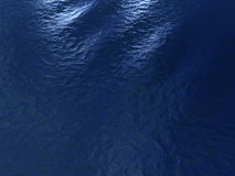 Blue calm ocean surface. From top view Royalty Free Stock Images