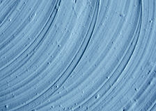 Blue cambrian cosmetic clay texture close up. Stock Photo