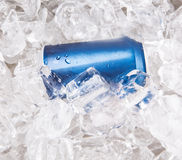 Blue Can Cola Drinks I Stock Photo