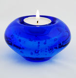 Blue candle Stock Photos