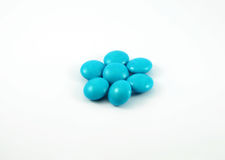 Blue Candy Stock Photography