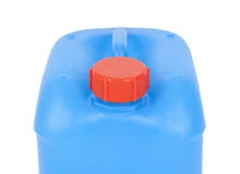 Blue canister Stock Images