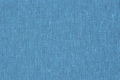 Blue canvas, a background or texture Royalty Free Stock Photography