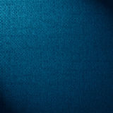 Blue canvas background Royalty Free Stock Photography