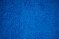 Blue canvas fabric background Royalty Free Stock Photo