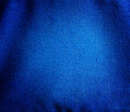 Blue canvas fabric background. With vignet Royalty Free Stock Photos
