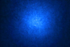 Blue Canvas Painted Background Stock Photo