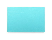 Blue canvas on a stretcher Stock Photography