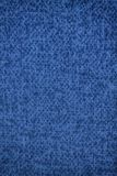 Blue Canvas surface, gray fabric texture, background for web site or mobile devices.  Stock Image