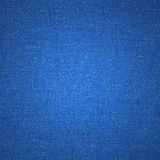 Blue canvas texture Stock Photos