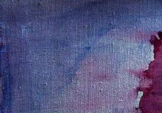 Blue canvas texture Stock Images
