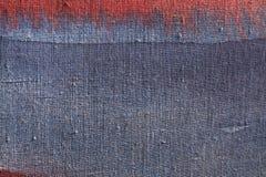 Blue canvas texture Stock Photo