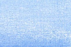 Blue canvas texture background Royalty Free Stock Image