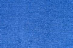 Blue canvas texture Stock Image