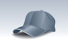 Blue Cap. Cool Blue Cap vector drawing Stock Photo