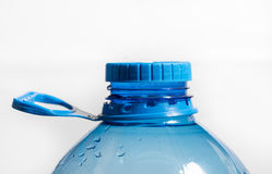 Blue Cap on Pet Water gallon Stock Photography