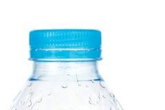 Blue cap of plastic bottle isolated on white background Royalty Free Stock Photography