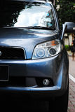 Blue Car Stock Photography