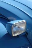 Blue car detail Stock Photos