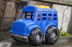 Blue car stock photography