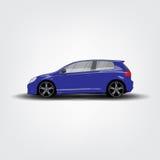 Blue car Royalty Free Stock Photos