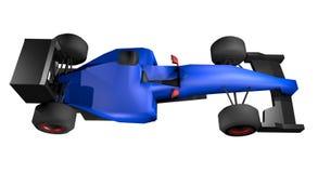 Blue car speed Stock Photos