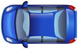 A blue car Stock Photo