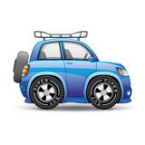 Blue car. Royalty Free Stock Image