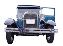 blue car vintage Στοκ φωτογραφία με δικαίωμα ελεύθερης χρήσης