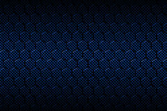 Blue carbon fiber hexagon pattern. Background and texture. 3d illustration Stock Image