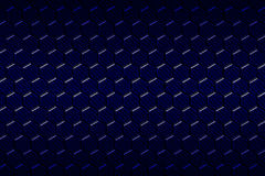 Blue carbon fiber hexagon pattern. Background and texture. 3d illustration Royalty Free Stock Photos