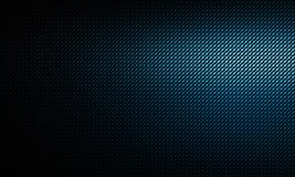 Blue carbon fiber texture. Abstract modern blue carbon fiber texture with left side light, material design for background, wallpaper, graphic design Royalty Free Stock Image
