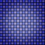 Blue carbon fiber texture background. Blue spotlight glows on carbon fiber background texture illustration Stock Photo