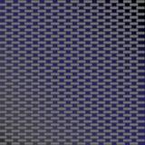 Blue Carbon Fiber Vector. A custom carbon fiber texture in vector format royalty free illustration