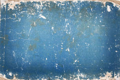 Blue cardboard with age marks Royalty Free Stock Photo