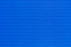 Blue cardboard texture Royalty Free Stock Photography