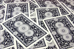 Blue cards Royalty Free Stock Images