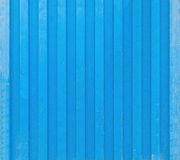 Blue cargo ship container texture Stock Photo