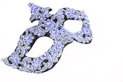 Blue Carnival Mask Royalty Free Stock Images
