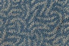 Blue carpet floor Stock Images